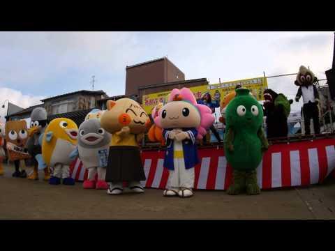 【ゆるキャラ】恵那で岐阜県のキャラたちがミナモダンス【メロン …