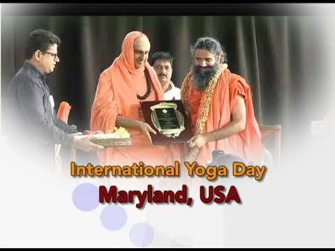 International Yoga Day  Maryland, USA  24 June 2017