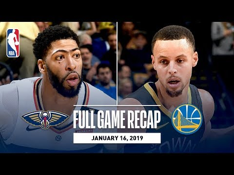 Video: Full Game Recap: Pelicans vs Warriors | New Orleans & Golden State Combine To Hit 43 Three-Pointers