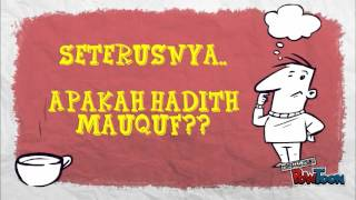 ULUM HADIS (MARFU',MAWQUF,MAQTU') Video