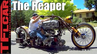 Don't Fear The Reaper: A Story of a Man & His Life & His Crazy Cool Custom Bike by The Fast Lane Car
