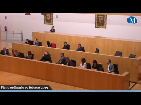 Pleno ordinario de la Diputación correspondiente al mes de febrero