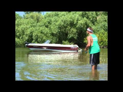 TWO BASS ONE CAST- Dark Tackle™ Small Mouth Bass Fishing