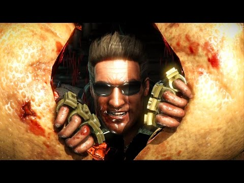 Mortal Kombat X - Johnny Cage Klassic Ladder Walkthrough And Ending
