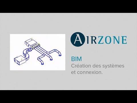 4. Airzone BIM : Création des systèmes et connexion