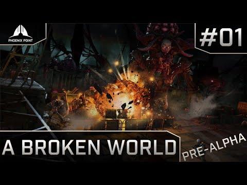 Phoenix Point - Pre Alpha Backer Build - Phoenix Point Gameplay - 01 (видео)