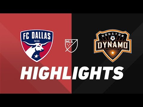 Video: FC Dallas vs. Houston Dynamo | HIGHLIGHTS - August 25, 2019