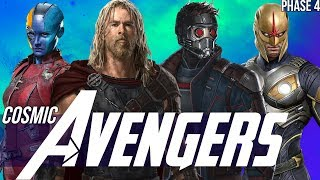 Video Thor & the Asgardians of the Galaxy + Nova in Phase 4 - Avengers Endgame MP3, 3GP, MP4, WEBM, AVI, FLV Mei 2019