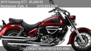 10. 2010 Hyosung ST7 Cruiser for sale in Machesney Park, IL 6111