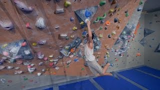 Nikken Is Getting A Little Angry And Makes Us Laugh! (part 2) by Eric Karlsson Bouldering