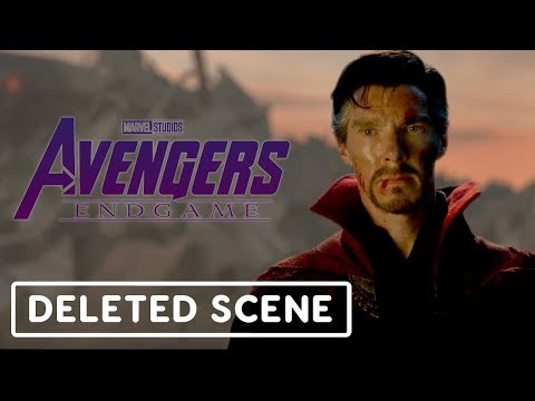 Avengers: Endgame Deleted Scene - The Avengers Honor Tony Stark