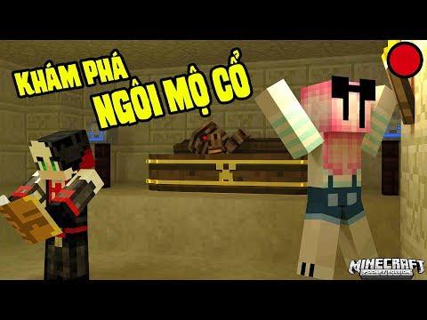 REDHOOD VÀ MỀU STREAM THỬ THÁCH KHÁM PHÁ NGÔI MỘ CỔ TRONG MINECRAFT | Redhood Stream Minecraft - Thời lượng: 35:51.