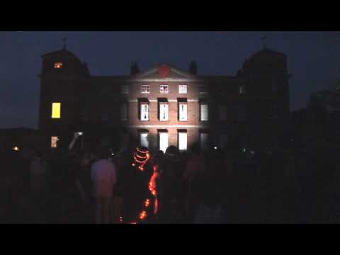 video mapping projections - FunnyStuff.gr