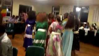 Ethiopian New Year 2006 Tigrigna Traditional Music + Dance In Brisbane (ashenda) - Part 2