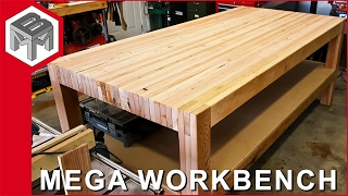 Video Mega Workbench - How to Make a Woodworking Bench MP3, 3GP, MP4, WEBM, AVI, FLV September 2019
