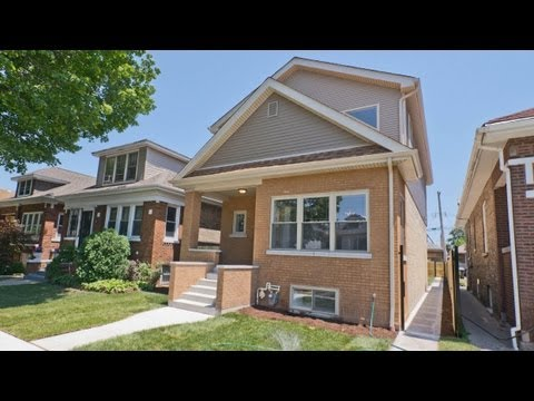 A newly-renovated Irving Park single-family