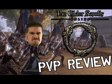 Elder Scrolls Online PvP Gameplay - Angry Joe's Impressions