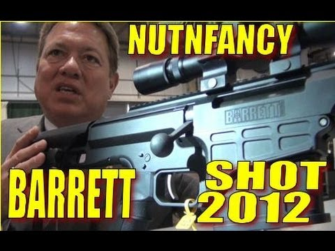 barrett - Mr Ron Barrett himself gives us the guided tour of all things Barrett. In detail we check out the M98, MRAD, and M107A1 rifles. Insight to this great America...