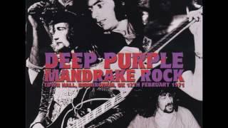 Deep Purple 1971 02 12 Birmingham, UK