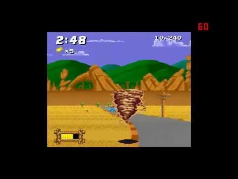 Taz-Mania Super Nintendo