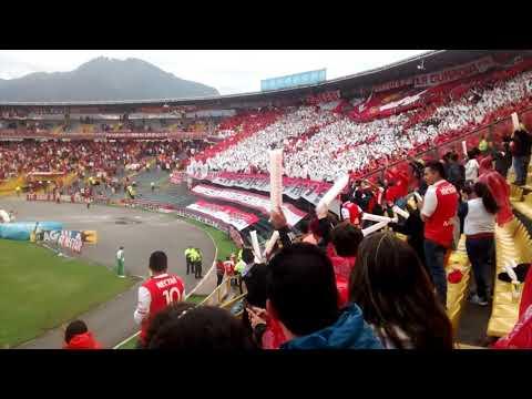 LGARS - como me voy a olvidar - La Guardia Albi Roja Sur - Independiente Santa Fe - Colombia - América del Sur
