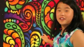 "Long Beach Quilt Festival, Sophie Rubin's ""Kids Eye Review"" #1 - Sparkle & Color"