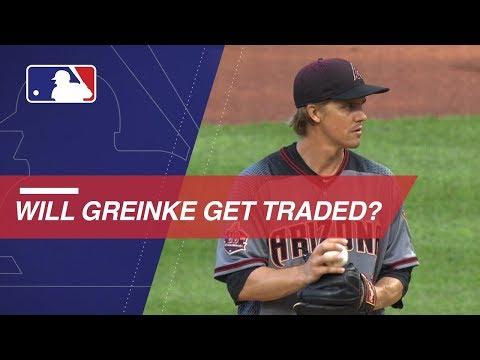 Video: Zack Greinke rumored to be on trading block this offseason