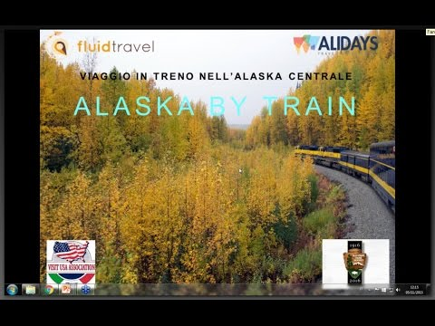 Video ALASKA BY TRAIN (5/11/2015)