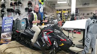 2. 2019 Polaris Indy XC 129 - Snowmobile walk around - Motoprimo Lakeville