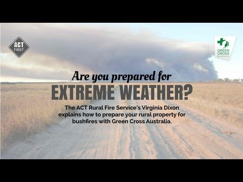 Prepare your rural property for bushfires