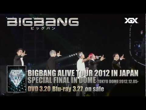 BIGBANG - ALIVE TOUR 2012 IN JAPAN SPECIAL FINAL IN DOME TV-SPOT