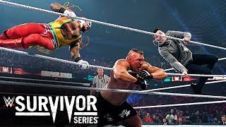 Rey Mysterio and son blast Brock Lesnar with double 619: Survivor Series 2019 (WWE Network)