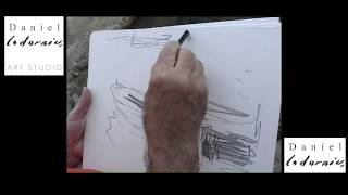 Cala Figuera Spain  city photo : DANIEL CODORNIU DRAWS CALA FIGUERA (Mallorca-Summer 2006) Part 4 and the end