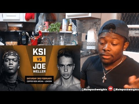 KSI's Long Lost Brother Reacts to KSI VS JOE WELLER BOXING (Reaction) (видео)