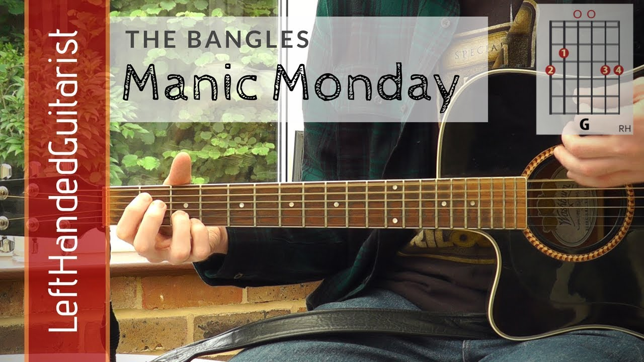 The Bangles – Manic Monday | guitar lesson