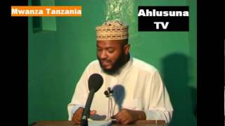 Muhadhara Sheikh Hamza Mansoor MADA. Mali Prt. 2 By. Ahmed Sh. Ahlusuna TV Mwanza Tanzania..avi