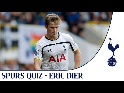 Video: Eric Dier takes the Spurs quiz