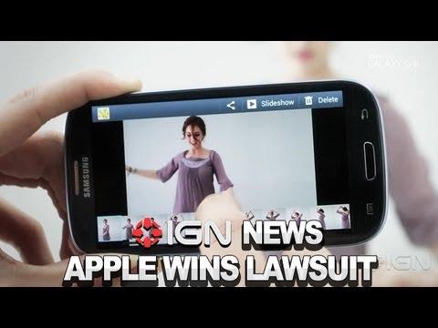 APPLE WINS $1 BILLION LAWSUIT AGAINST SAMSUNG