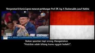Video [Visual ILustrasi] Bukti Pak B.J. Habibie Mendukung Jokowi menjadi Presiden Republik Indonesia MP3, 3GP, MP4, WEBM, AVI, FLV Oktober 2018