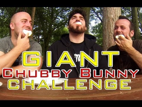 scottkinmartintv - Matt, Rob & Scott take on the Chubby Bunny Challenge with GIANT marshmallow roasters. Who will succeed? August mission