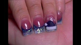 Mis Unas Para la Navidad 2012 , Unas Acrilicas