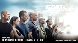 Nonton Furious 7 - Soundtrack #3 ( DJ Snake x Lil' Jon - Turn down for what ) Film Subtitle Indonesia Streaming Movie Download