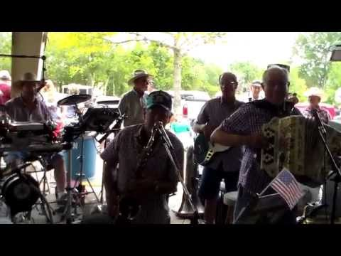 RED RAVENS POLKA BAND - SCHULENBURG, TEXAS   07-04-2014