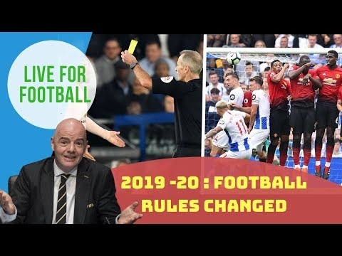 FIFA New Rules From June 1,2019