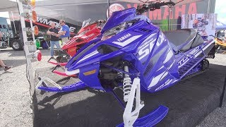 3. 2019 Yamaha Sidewinder SRX Walk Around & First Impressions | Hay Days 2018