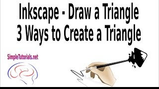 Inkscape Draw a Triangle - 3 Ways to Create a Triangle...Beginners or newbies, take a quick look at how to draw a triangle in Inkscape by watching this video.