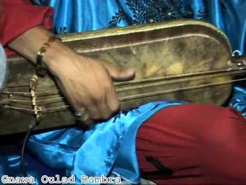 "Lila MàaLam Simohamd MasToura & Younes Hadir -'_ Bangoro_-"" 2015 & Gnawa Oulad Bambra"