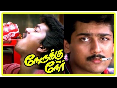 Video Vijay New Movie 2017 | Vijay and Suriya intro | Nerruku Ner Movie Scenes | Raghuvaran | Deva download in MP3, 3GP, MP4, WEBM, AVI, FLV January 2017