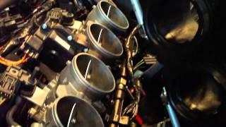 9. 2011 Kawasaki ZX-6R Spark Plug Change