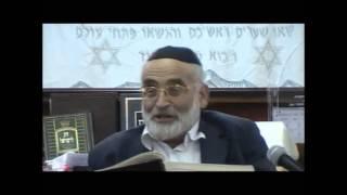 הרב יוסף שני – פסח וספירת העומר – חלק ב
